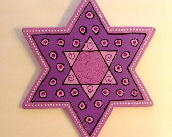 Star of David Wall Decor