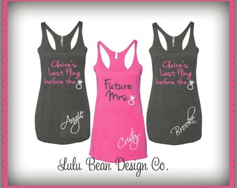 10 Last Fling Before the Ring Tank Tops Perfect for Bachelorette Parties