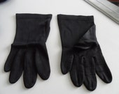 Gloves, black, perfect vintage day wear