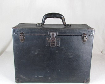 Antique Carrying Case for 6 x 9 box camera and film backs