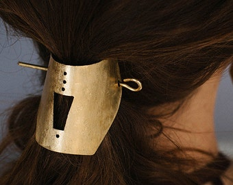Cree. Brass Hairpin