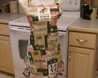 SMALL Size Military Hero  Apron