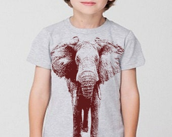 Elephant T Shirt Gifts For Boys TShirt Elephant Illustration Gifts For Boys Girls First 1st 2nd 3rd 4th 5th Birthday Graphic Tees Men Women