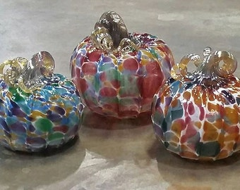 Limited Edition Glass Pumpkins