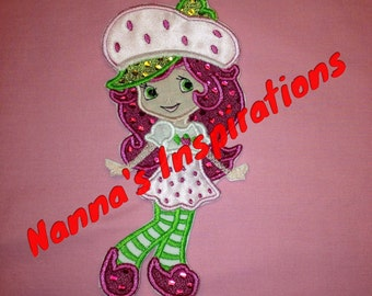 Strawberry Shortcake  Iron on patch