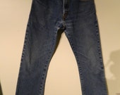 Vintage Levi Jeans 1980's 517 Boot Cut Mid Rise Red Tab W31 L32