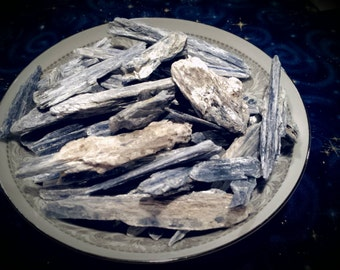 Blue Kyanite Raw Blades