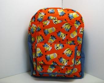 Minions In Orange & Blue Preschool Backpack