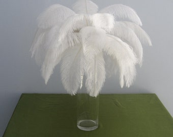 Discount 80  ostrich feather for wedding table centerpiece decorations AA quality Many colors in stock