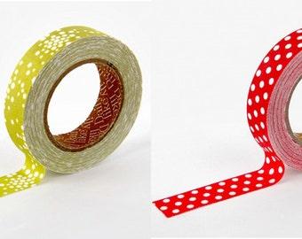 Decorative Adhesive Dot Pattern Masking Tape