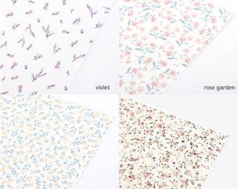 Fabric Reform  Sticker A4 Size floral pattern