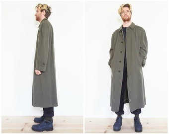 90s Italian Virgin Wool Overcoat