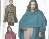 Butterick 5684 Wrap and Cape Pattern Sizes 4  6  8  10  12  14