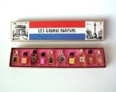 Vintage Box of French Perfume Samples, Les Grands Parfums, Unopened