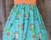 Girls Disney clothing, Jungle Book Dress, Character Clothing, sizes newborn-girls 7