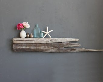 Natural Slab Driftwood Shelf // Size LARGE