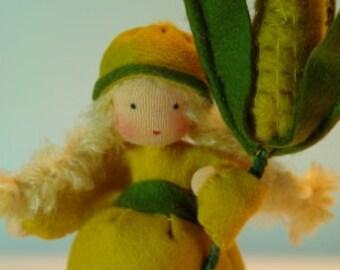 Corn Girl - Flower Child - Waldorf Inspired - Nature Table