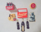 8 Vintage Coca Cola Magnets