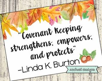 September LDS Visiting Teaching Message