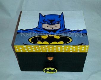 Batman gift box | Etsy