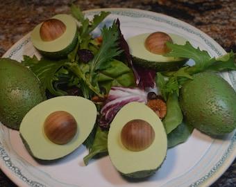 Pretend Fruit Fresh Avocado Wooden Toy