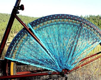 Bike Skirt Guard, 'Peacock'