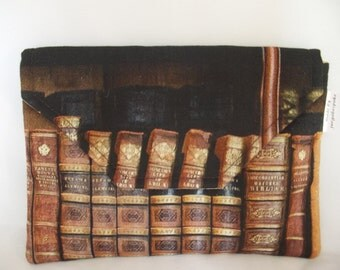 Kindle Cover,cotton fabric,reading, gift, gadget cover