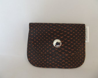 Leather coin purse, small coin purse, small leather pouch, small pouch, coin purse, leather gift