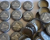 100 Coors Light Beer Bottle Caps New Logo Born in the Rockies Gray  -used