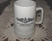 U.S. Submarine Force Pacific Fleet Mug or Stein Made by DAGA Hawaii