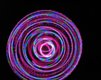 Scarlet Begonias LED Hoop