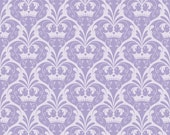 Dream Damask on Purple From Riley Blake's Dream and a Wish Collection by Sandra Workman