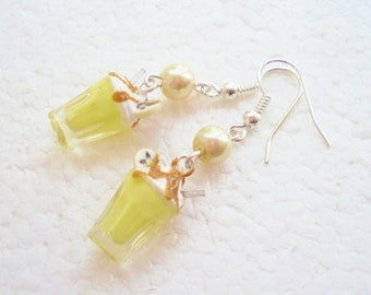 Banana Milkshake Earrings.
