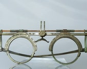 Antique Optometrist Eye Glasses Tester Measuring Collectible Optometry Eyeglasses Steampunk Fashion Accessory DanPickedMinerals