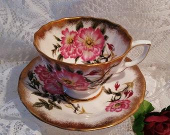 Vintage Adderley Tea Cup and Saucer set