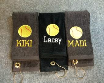 baseball, softball towel