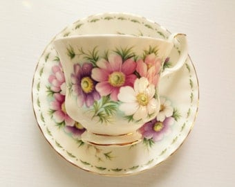 October Royal Albert Flower of the Month Series Teacup