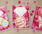 Boxed Bridal Party Invitations
