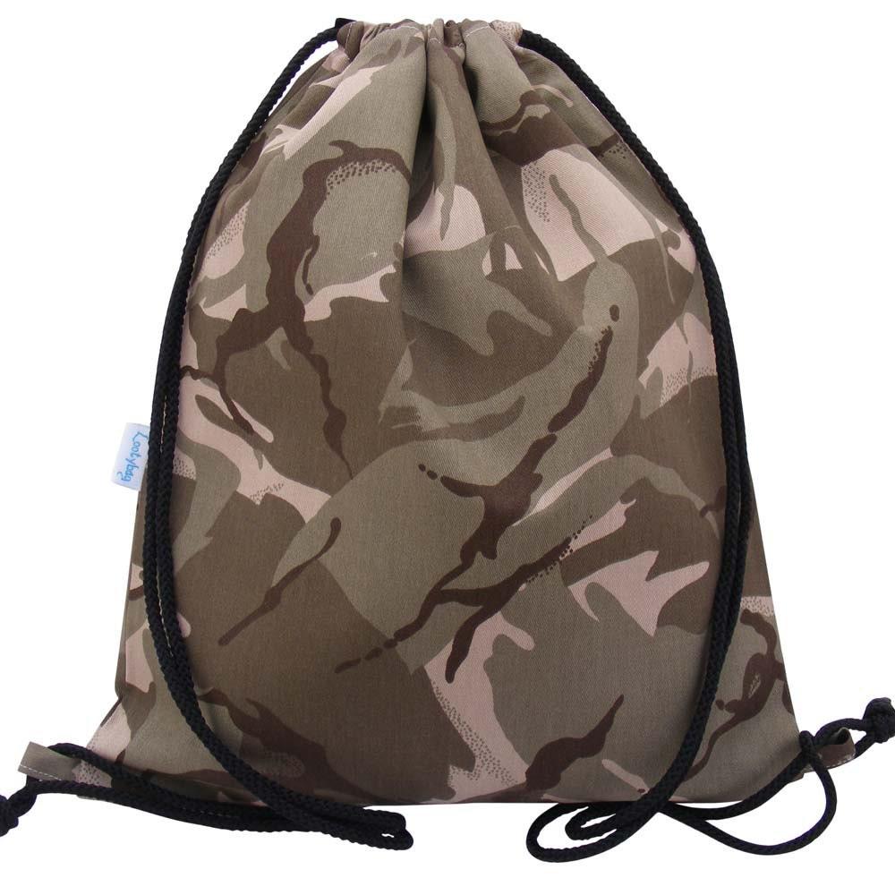 Swim Bag Waterproof Drawstring Backpack Desert Camouflage