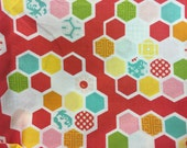 Quilters Hexigon - Timeless Treasures - End of Bolt