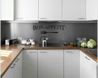 Bon Appetit Decal- Kitchen Decal
