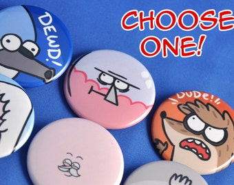 REGULAR SHOW - Choose One!