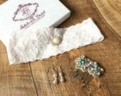 Bridal Garter -  Simply Chic Blush Bridal Garter - The Original Simply Chic Garter