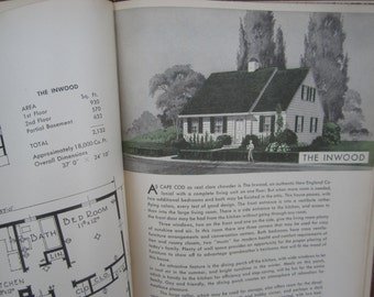 1940s Small Tiny House Plans Book