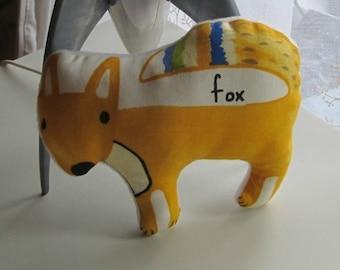 Cute Printed Fox Pin Cushion
