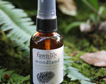 Woodland Aromatherapy Mist: Handcrafted from Botanicals