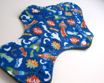 """Reusable Cloth Pad 13"""" Space Signs"""