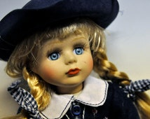 French Vintage China Doll