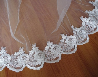 ivory cord lace trim by with pearls