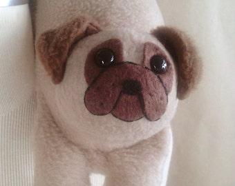 Basil Snarfbone: Pug Travel Neck Pillow